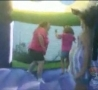 Funny Links - Fat Woman Collapses a Bounce Castle