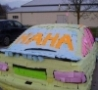 Funny Links - Post It Car