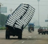 Funny Pictures - Big Load Failure