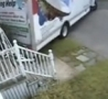 Funny Links - Woman Drives U-Haul into Stairs