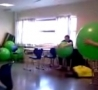 Funny Links - Exercise Ball Chick FAIL!