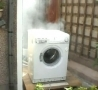 Funny Links - Washing Machine Self-Destructs