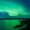 Cool Pictures - Northern Lights Over Lake