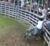 Cool Links - Bull Slams Rider's Face into Fence