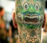 Cool Pictures - The Scared Tattoo