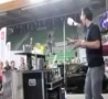 Funny Links - Bartender Bottle Fail