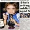 Weird Funny Pictures - 5 Year Old Drug Addict