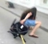 Funny Links - Street Surfer Skids Into Building