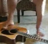 Cool Links - Amazing Foot Guitarist