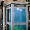 Cool Pictures - Aquarium Phone Booth