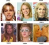 Celebrities - Britney Spears Evolution