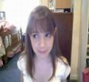 Funny Pictures - Girl Stares at Webcam