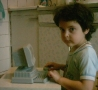 Funny Kids - Computer Child Geek
