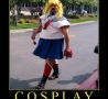 - Cosplay Warning