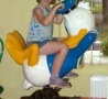 Funny Kids - Donald Duck Ride
