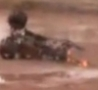 Cool Links - Mud Dragster Barely Misses Bystanders' Heads