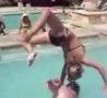 Funny Links - Pool Launch Chick FAIL