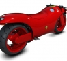 Cool Pictures - Red Motorcycle from Ferrari