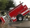 Funny Links - Sinking Fire Truck