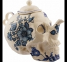 Funny Pictures - Skull Tea Pot