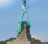 Funny Pictures - Statue Of Liberty Shows It All
