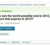 Funny Links - Why the World won't End in 2012