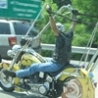 Funny Pictures - Giant Handlebars