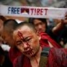 Political Pictures - Free Tibet Monk